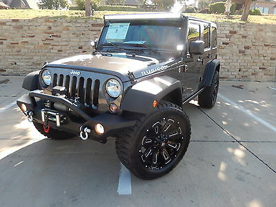 2014 Jeep Wrangler Unlimited Rubicon Sport Utility 4-Door 2014 Jeep Wrangler Unlimited Rubicon Sport Utility 4-Door 3.6L