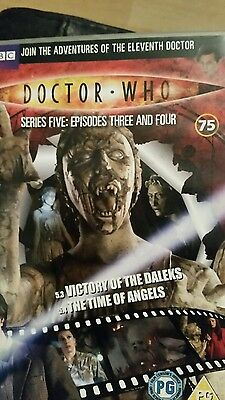 dr who victory of the daleks/the time of angels dvd (dvd files # 75)