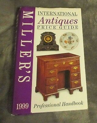 Miller's International Antiques Price Guide 1999 Professional Handbook 808 pages