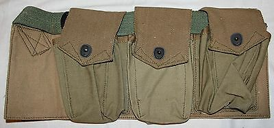 Original Unissued Wwi 1918 Dated B.a.r. Clip Bandoleer, Browning Automatic Rifle