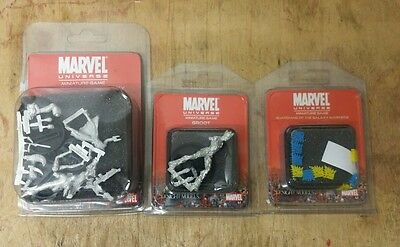 Marvel miniatures game Guardians of the Galaxy starter + Groot + Markers