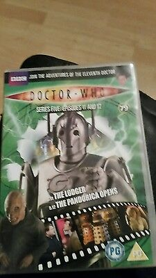 dr who the lodger/the pandorica opens dvd (dvd files # 79)