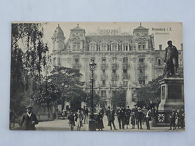Cpa 67 Strasbourg - Place Kleber - Hotel Maison Rouge