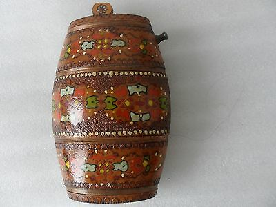 Superbly designed hand crafted RUSSIAN collectable LIQUOR TASTER in wood
