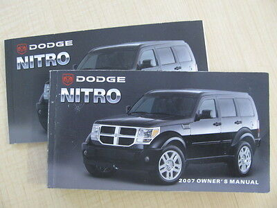 2008 Dodge Nitro Owner's Manual Part # 81-326-0713 Second Edition