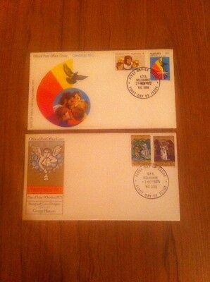 1972 - 1973 Australian Xmas First Day Covers