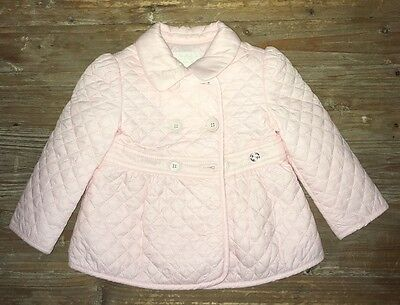 Gucci baby pink coat 9 to 12 months