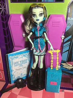 Monster High Doll - Frankie Stein - Scaris City of Frights - Good Condition