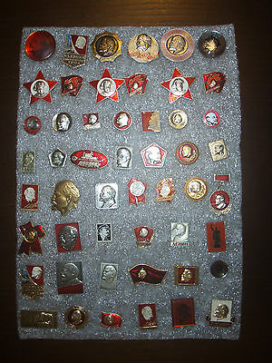 51  Badges USSR (Russia) Lenin different № 5