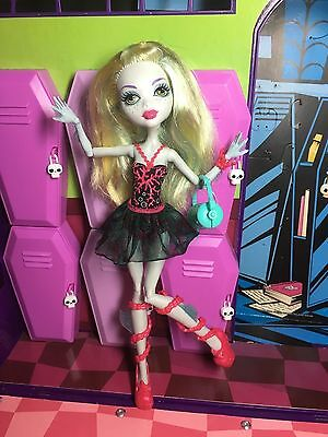 Monster High Doll - Lagoona Blue - Dance Class with Fins - Great Condition