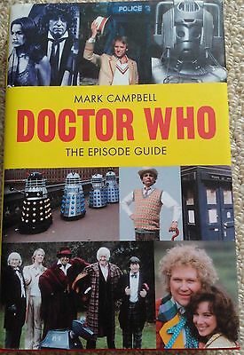 Doctor Who Episode Guide Mark Campbell ISBN:978-1904048-74-9