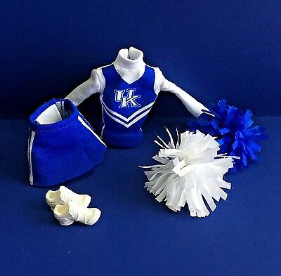 2013 Barbie Cheerleader University of Kentucky Cheerleading Ensemble