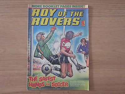 ROY OF THE ROVERS Football Comic - 14 Apr 1979 - Ross Jenkins (Watford) Poster