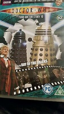 dr who day of the daleks dvd (dvd files # 92)