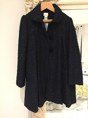 Girls Monsoon Sparkling Coat Age 7/8 Years