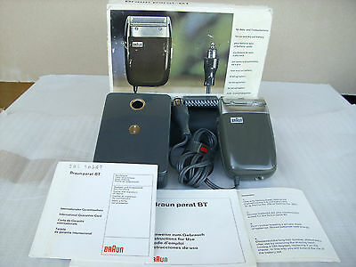 VERY RARE Vintage Shaver BRAUN Parat BT 5330 made in GERMANY Amazing condition