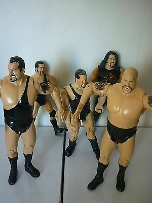 5 X Big Show Wrestling Collectable Figures. Wwe-Wwf