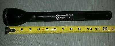 "MAGLITE Genuine UAW WIXOM ASSEMBLY FORD LINCOLN PLANT CLOSED . ""C"" Flashlight"