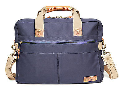 National Geographic Cape Town Double Gusset Brief Navy Briefcase New with tags