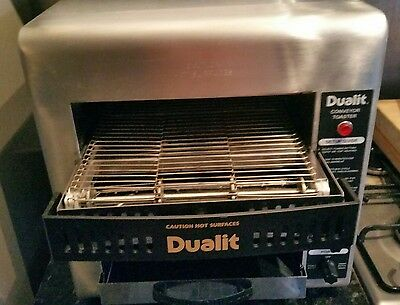 Dualit continuous conveyor  toaster