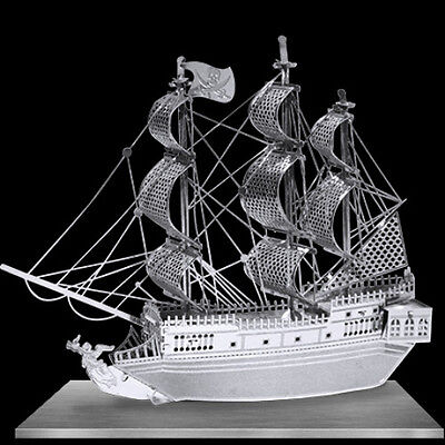 Fascinations Metal Earth 3D Laser Cut Model - Black Pearl Pirate Ship