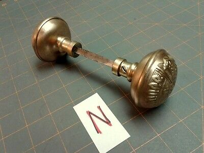 Antique Corbin Door Knobs Set Polished Cast Brass Eastlake Ceylon • CAD $76.20