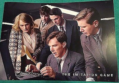 The Immitation Game Pressbook Color Benedict Cumberbatch Keira Knightley