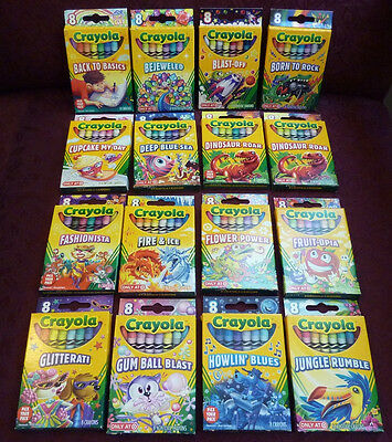 Crayola Crayons Target Exclusive Pick Your Pack 8 count box, 2011-2014