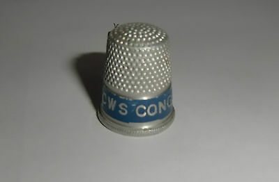 Rare CWS Congress Soap  Thimble with Sliding Side Wire