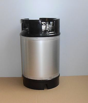 New A.e,b,cornelius Style 9 Ltr Stainless Steel Keg
