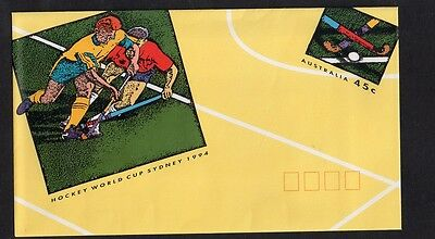 Australia Pre Stamped Envelope Hockey World Cup Sydney 1994