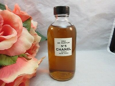 Vtg RARE bottle shape. Eau De Parfum CHANEL No. 5. Refill bottle?