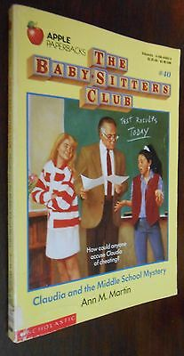 The Baby Sitters Club by Ann M. Martin (24,30,40)