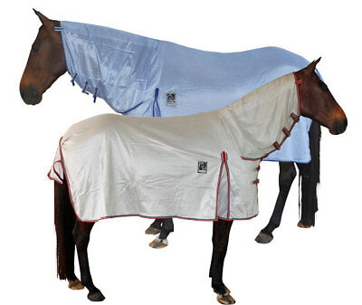 Kingsley Fly Air Mesh Neck Combo Horse Rug. High Air Flow, Insect Protection