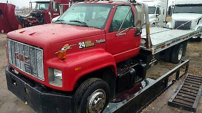 1996 GMC Topkick Rollback with Spear