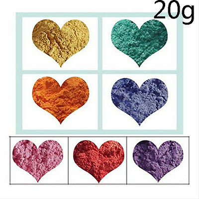 9 Colors Soap Colorant Do It Yourself Natural Mineral Mica Powder Soap Dye 20g