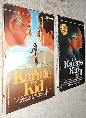 The Karate Kid part one and two books