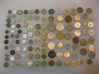 100 + Lot of Large & Small World Coins 1921 to 2005