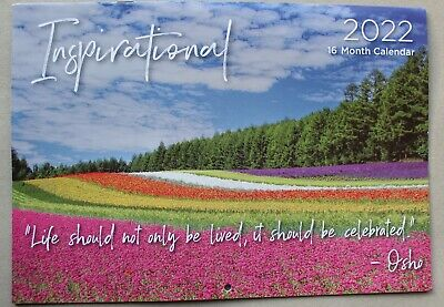 Inspirrational Calendar 2017 Paperback Wall Hanging Printed In Australia