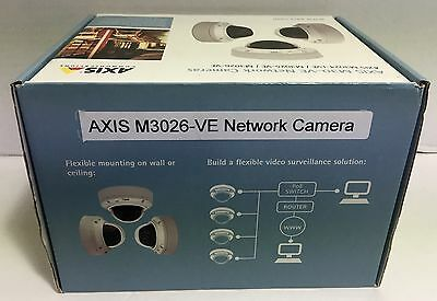 Axis M3026-VE Camera BRAND NEW In Sealed Box!  0547-001