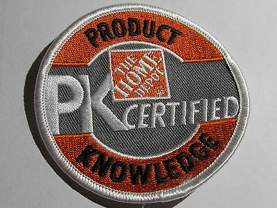 home depot collectibles PK certified patch