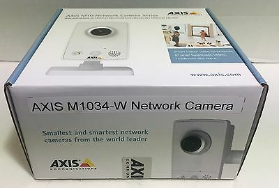 Axis M1034-W Camera BRAND NEW In Sealed Box!  0522-004
