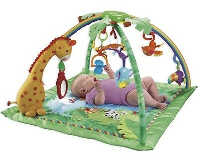 Fisher-Price - Baby Toy Rainforest Melodies & Lights Gym