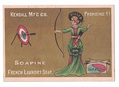 Kendall Mfg Co. Soapine Lady Archer Charlotte Perkins Gilman -
