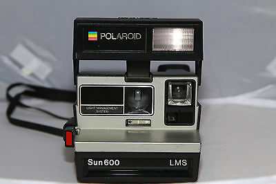 Polaroid 600 Land Camera Sun 600 LMS - Tested & Works - Impossible Project 600
