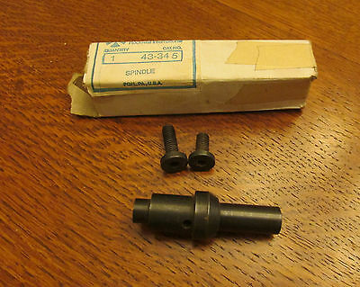 "Delta Rockwell HD Shaper 1/2"" spindle STUB arbor 43-345"