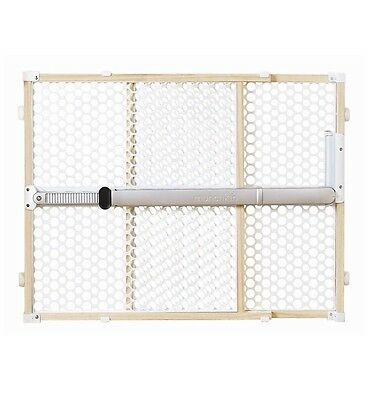 "Munchkin 26"" Quick Install Safety Gate Baby Pet Wood White"