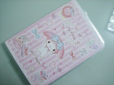 2017 Sanrio My Melody Schedule Book Diary Planner Notebook