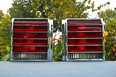 1976 Pontiac Grand Prix Left - Right Tail Lights
