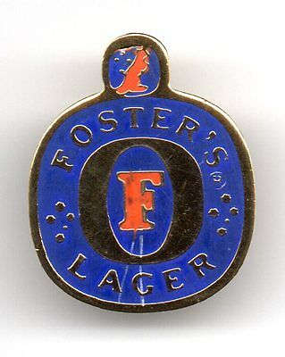 Foster lager Beer Pin